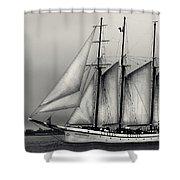 Tall Ships Sailing Boat Shower Curtain
