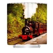 Talyllyn Railway 4 Shower Curtain