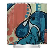 Tamed Shower Curtain