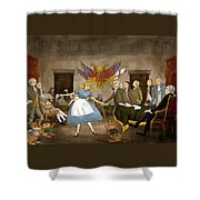 Tammy In Independence Hall Shower Curtain