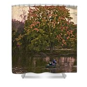 Tammy's Pond Shower Curtain