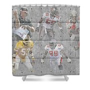 Tampa Bay Buccaneers Legends Shower Curtain