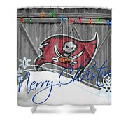 Tampa Bay Buccaners Shower Curtain