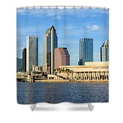 Tampa Bay Classic View Shower Curtain