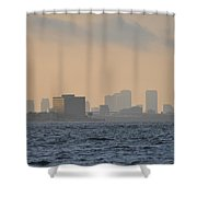 Tampa From The West Shore Shower Curtain