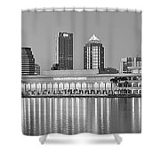 Tampa Panorama Shower Curtain