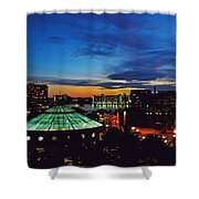 Tampa Sunset Shower Curtain
