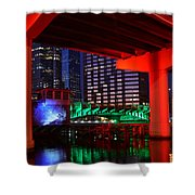 Colorful Tampa Bay Florida Shower Curtain