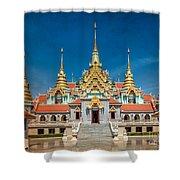 Tang Sai Temple Shower Curtain