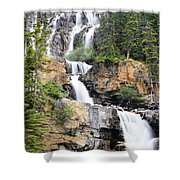 Tangle Falls Tumble Shower Curtain