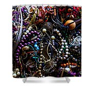 Tangled Baubles Shower Curtain