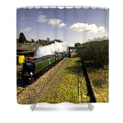 Tangmere At Seaton Junction Shower Curtain