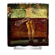 Tango Lovely Legs Shower Curtain