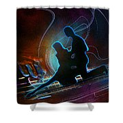 Tangoscape 04 Shower Curtain