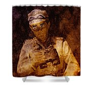Tank Commander Shower Curtain