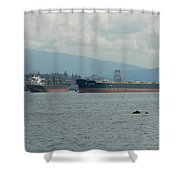 Tankers Shower Curtain