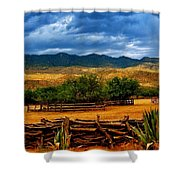 Tanque Verde Ranch Tucson Az Shower Curtain