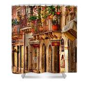 Taormina Balcony Shower Curtain