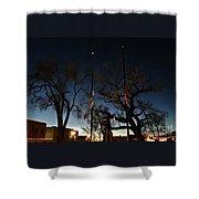 Taos At Night Shower Curtain