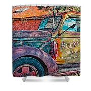 Taos Chevy Shower Curtain