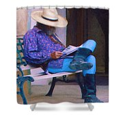 Taos Down Time Shower Curtain