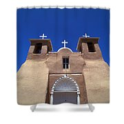 Taos Mission Shower Curtain
