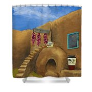 Taos Poetry Shower Curtain