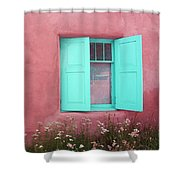 Taos Window I Shower Curtain