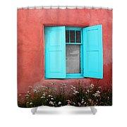 Taos Window Iv Shower Curtain