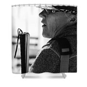 Tap And Stare Shower Curtain