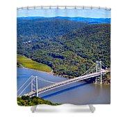 Bear Mountain Bridge 2 Shower Curtain