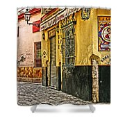 Tapas Bar In Sevilla Spain Shower Curtain