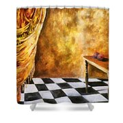 Tapestry Shower Curtain by Michelle Calkins