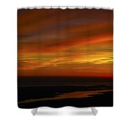 Rappahannock Sunrise II Shower Curtain