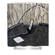 Tapped Shower Curtain