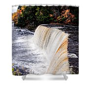 Taquamenon Falls II Shower Curtain