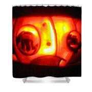 Tarboy Pumpkin Shower Curtain