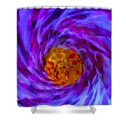 Tardus Timelord Tunnel Shower Curtain