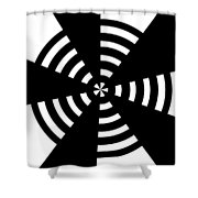 Target 2 Shower Curtain