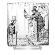 Tariff Bill, 1921 Shower Curtain