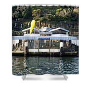 Taronga Zoo Wharf Shower Curtain by Steven Ralser