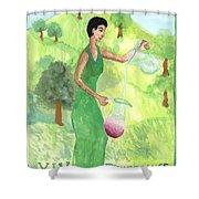 Tarot 14 Temperance Shower Curtain