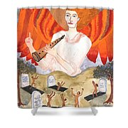 Tarot 20 Judgement Shower Curtain