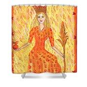 Tarot 3 The Empress Shower Curtain