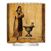 Tarot Card Temperance  Shower Curtain