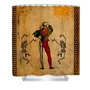 Tarot Card The Fool Shower Curtain