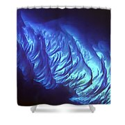 Tarpum Bay Bahamas  Shower Curtain by Adam Romanowicz