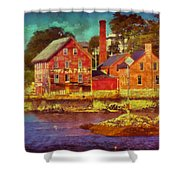 Tarr And Wonson Fading Shower Curtain