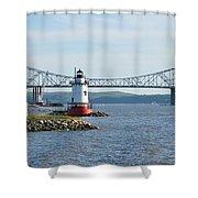 Tarrytown Lighthouse Shower Curtain