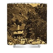 Tassajara Hot Springs Monterey County Calif. 1915 Shower Curtain